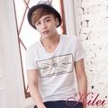 【Kilei】時尚搭配飾鑽棉TXA1438(細膩白)賠售特價
