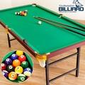 186X99家用折合型撞球台(內含完整配件)C167-Y1801折疊撞球桌撞球檯.撞球桿球杆摺疊遊戲台遊戲桌