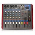 EL M SMR703-USB 6 Channel Bluetooth USB Audio Mixer Mixing Console for DJ KTV Karaoke