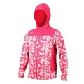 【ASICS】男平織外套-連帽外套 慢跑 路跑 亞瑟士 桃紅白