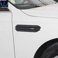 奧迪A4 A6 Q5 A5 Q3專用改裝 葉子板側風口裝飾條 奧迪A4改裝