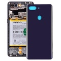 Curved Back Cover for OPPO R15 Pro(Purple)