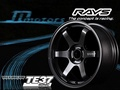 JD-MOTORS RAYS VOLK RACING TE37 SONIC 16吋單片式鍛造鋁圈