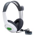 Stereo Headphones with microphones for the XBox 360 Console White