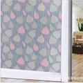 สติ๊กเกอร์ฝ้าติดกระจก แบบมีกาวในตัว GS069  (หน้ากว้าง 90cmx5เมตร)