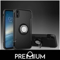 Premium Phone Ring + Metal Plate Tough Case For OPPO R11 R11s