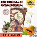4 Box 64 Sachets New Tremella-DX Enzyme Premium  ( NO BOX)