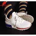 【豬豬老闆】NEW BALANCE 574 NB 白紅藍 運動 休閒 網眼 透氣 慢跑鞋 男女鞋 MS574SCN