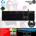 Logitech G512 RGB Backlit Mechanical Gaming Keyboard with Romer-G Tactile Keyswitches