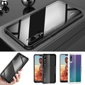 HUAWEI P20 Pro Phone Case Tempered Glass Soft Edge Transparent Phone Cover for HUAWEI P20 Pro