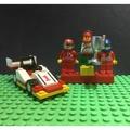 LEGO樂高經典絕版CITY RACER賽車頒獎台人偶組