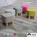 [免運] 歐德萊 實木腳小椅凳【CHA-17】布套可拆洗 小椅子 小椅凳 小板凳 矮凳 和式椅 沙發椅 客廳椅 穿鞋椅