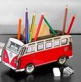 德國福斯文具收納盒 WERKHAUS VWT1 創意趣味筆筒 福斯汽車造型收納筒