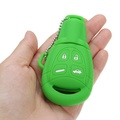 4 Buttons Silicone Remote Key Case Fob Cover Shell Skin For Saab 9-3 9-5 03-15