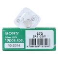 Sony 373 SR916SW 1PACK X (10PCS) Silver 1.55V Watch battery Made in Japan
