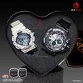 ฟรีกล่องเซ็ต! นาฬิกาคู่ แฟชั่น สปอร์ต เท่ EXPONI EP0616XBLW SPORT CHRONOMETER WATCH