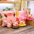 現貨發售日本櫻花兔子一大袋櫻花抱枕仿真零食抱枕巧克力布丁生日禮物女