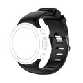 Rongnew Replacement Silicagel Soft Band Strap For Suunto D4/D4i Novo Watch BK