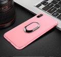 Magnetic Car Ring Case for OPPO R11S Kickstand Phone Cases Soft Silicone Cover for Oppo R11S Holder Phone Case
