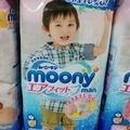 滿意寶寶moony褲 日本境內製造 ( 褲型 ) 男女L44 XL38