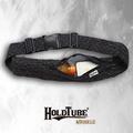 【HOLDTUBE】運動腰帶-單口皺褶袋-低調黑