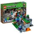 【動仔】 樂高積木lego我的世界系列僵屍洞穴21141益智拼插玩具