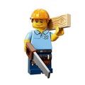 Lego Minifigures 71008 - 木匠 Capenter