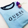 GUESS Los Angeles 滾邊短T