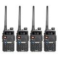 【隆威】Ronway F2 VHF/UHF雙頻無線電對講機 五色 (4入組)