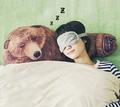 熊臂彎抱枕