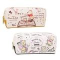 筆袋 日本 迪士尼 小熊維尼 插畫風筆袋 收納 文具 大容量 化妝包 正版日本進口