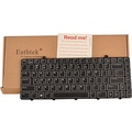 Eathtek New Laptop Keyboard with Backlit for Dell Alienware M11x R2 R3 M11x-R2 M11x-R3 series Black