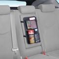 權世界@汽車用品 日本 SEIWA 多功能後座中央扶手調整帶固定式飲料置物收納袋 W795