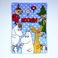 💙現貨 Moomin 姆明 嚕嚕米 毯子 法蘭絨 毛毯 毛毯被 空調被 被子 棉被