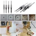 高品質強力木工方孔鑽 英制加長木工開方孔 方榫機用方孔鑽頭4件套