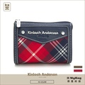 Kinloch Anderson 金安德森 皮夾 英式學院 經典格紋布女夾 零錢包 KA151208 得意時袋