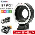 [享樂攝影] 唯卓Viltrox EF-FX1 自動對焦轉接環EOS 轉 富士FX Canon EF-FX 含腳架座 平輸店保1年 XT20/XPRO2/XA5