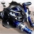 【2.1米槍柄水滴輪豪華套裝-1套/組】碳素路亞竿水滴輪槍柄直柄紡車輪釣魚竿海竿-7670617