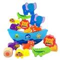 現貨💕兒童玩具📣動物平衡玩具 ♥動物平衡 兒童益智認知玩具動物積木 木質智能平衡疊疊高積木玩具 動手動腦