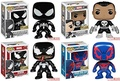 [USA Shipping] Funko Pop! Marvel Exclusive Series Complete Set - Venom, Black Suit Spiderman, Spider