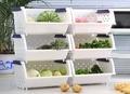 【中古可疊加廚房置物架】二手正常8成新蔬果收納筐廚房儲物架玩具衣物收納籃 工具盒 板橋可自取