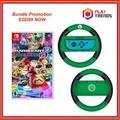 Nintendo Switch Mario Kart Deluxe 8 Bundle with Joy-Con Handle(Luigi)