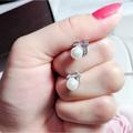 💖香港正生銀飾代購💫S925純銀 正生 珍珠貝耳針 耳環 現貨+預購