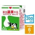 味全 蘋果牛乳200ml(6入/組)