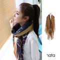 【nata】韓系條紋披肩圍巾