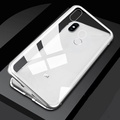 Luxury Magnetic Armor Case For Huawei Nova 3 Metal Bumper Magnets Clear Glass Cover For Case Huawei Nova 3i Case Nova3i Nova3