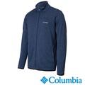 【Columbia哥倫比亞】男-刷毛外套-藍 保暖.休閒.運動
