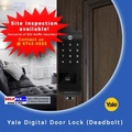 Yale Biometric Deadbolt Digital Door Lock YDR343 (Comes with free installation)