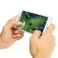2Pcs Clear Mobile Touch Screen Game Joystick Controller Sucker for Mobile Phone Tablet