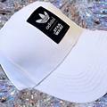 Adida愛迪達 三葉草 經典復古鴨舌帽【白色】